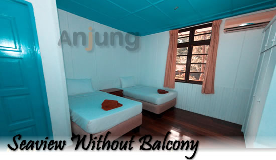 Seaview without balcony arwana